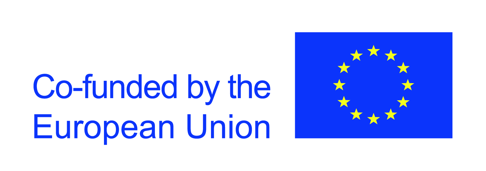 Logo of EU flag for funding